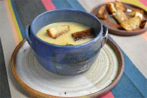 Soupe au camembert
