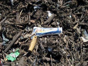 Le compost n'est pas une poubelle