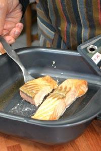 Cuisson du saumon