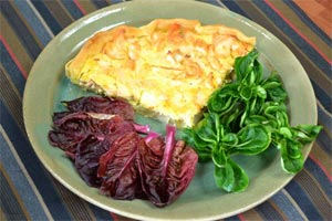 Tarte endives - saumon