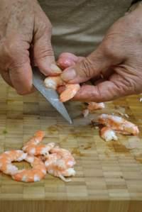 Décortiquer les crevettes