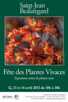 Fête des Plantes vivaces à Saint-Jean de Beauregard