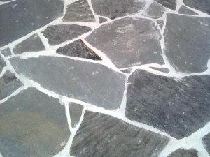 terrasse en ardoise