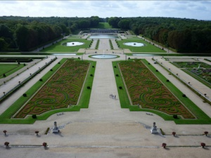 Vaux le Vicomte : jardins