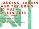 Jardins, jardin aux Tuileries du 31 mai au 2 juin 2013
