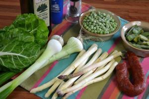 Légumes à l'espagnole : recette illustrée