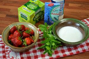 Coupes fraîcheur au thé vert et à la menthe
