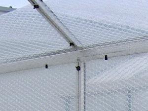 Kit isolation serre en plastique bulle
