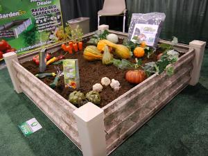 Chemin potager tout - Table de jardinage en hauteur ...