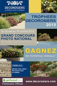 Trophées DECOROSIERS 2013 : Grand Concours Photo