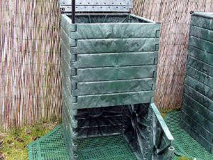 Quel mod le de composteur bac silo en f t rotatif - Ou peut on recuperer des palettes ...