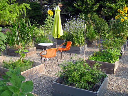 organisation potager tout. Black Bedroom Furniture Sets. Home Design Ideas
