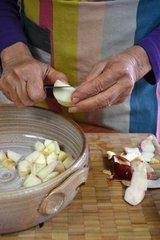 Epluchage des pommes
