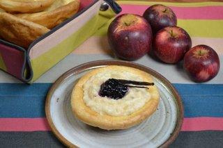 Craquelins bretons à la compote de pomme