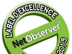 Label d'excellence Netobserver 2013