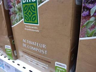 Boîte d'activateur de compost