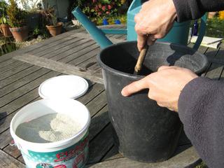 Préparation d'un pralin du commerce