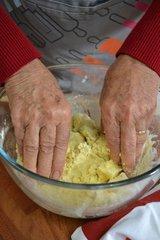 Pétrissage de la pâte