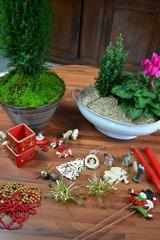 Eléments de décor pour Noël