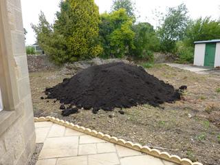 Apport de compost - Sol pauvre