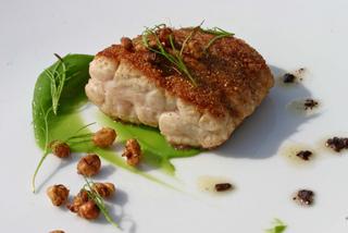 Souchet cuisiné avec du poisson