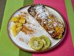 Omelettes individuelles aux fruits de saison