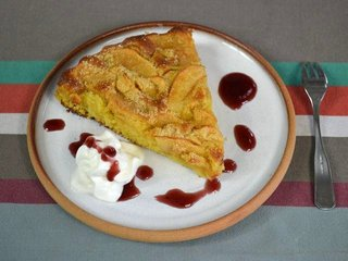 Gâteau aux pommes / I.G.