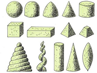 Exemples de formes de topiaires
