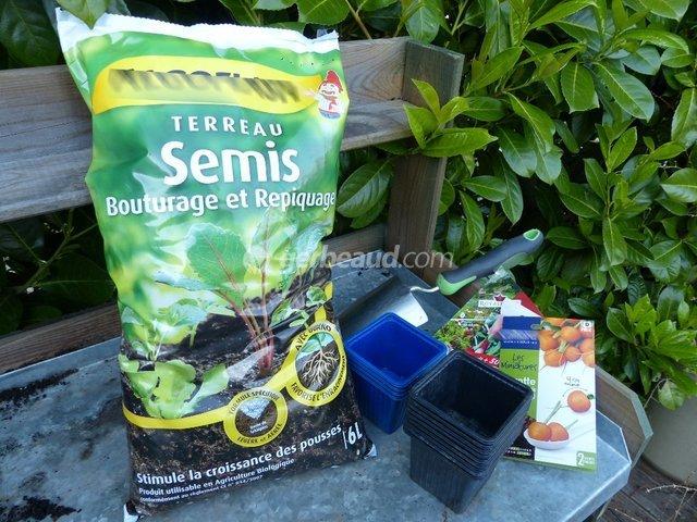 Terreau pour semis