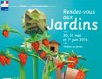Rendez-vous aux jardins, les 30, 31 mai et 1 juin 2014