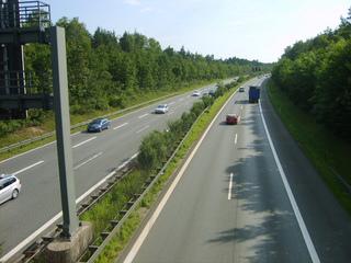 Autoroute : végétalisation du terre-plein central