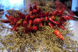 Bouquet sec : piments