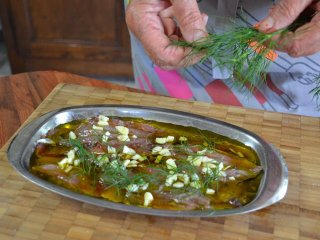 Filets de sardines en marinade / I.G.