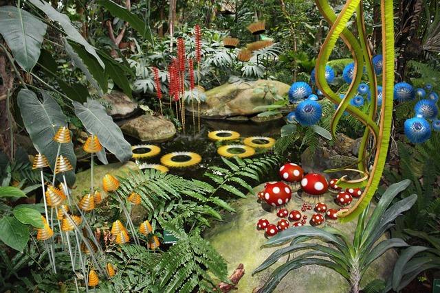 Exposition cet automne au mnhn hybridations par alexis for Expo jardin paris