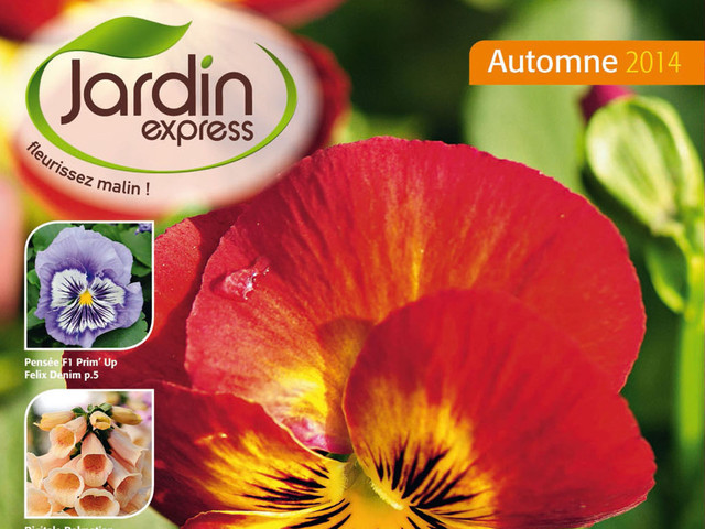Catalogue JardinExpress automne 2014