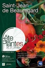 Fête des plantes d'automne à Saint-Jean de Beauregard du 26 au 28 septembre 2014