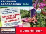 Trophées Décorosiers 2014 : un rosier en cadeau ce week-end !