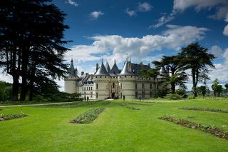 Le Château de Chaumont-sur-Loire vu depuis le Parc Historique