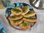 Biscuits sablés aux graines d'ortie