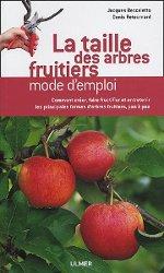 Taille des arbres fruitiers  mode d'emploi : couverture