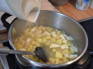 Cuisson des légumes à l'eau / I.G.