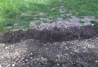 Installation d'un système d'arrosage enterré