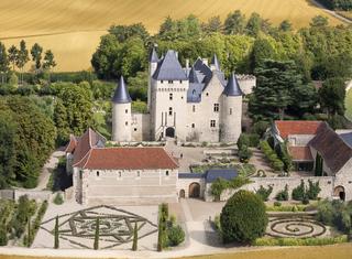 Château du Rivau et ses jardins de contes de Fées