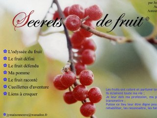 Secrets de fruit - http://www.secretsdefruit.fr/