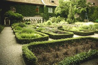Portrait du jardin médiéval Jardin-simples-monastere