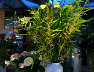 Bouqquet de mimosa en octobre