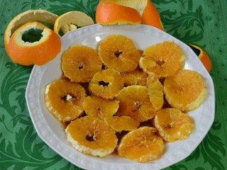 Oranges caramélisées