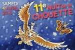 11e Nuit de la Chouette, le 4 avril 2015