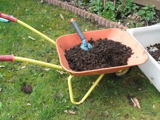 Utilisation du compost au jardin
