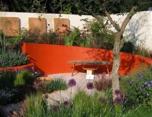 La couleur s'invite au jardin